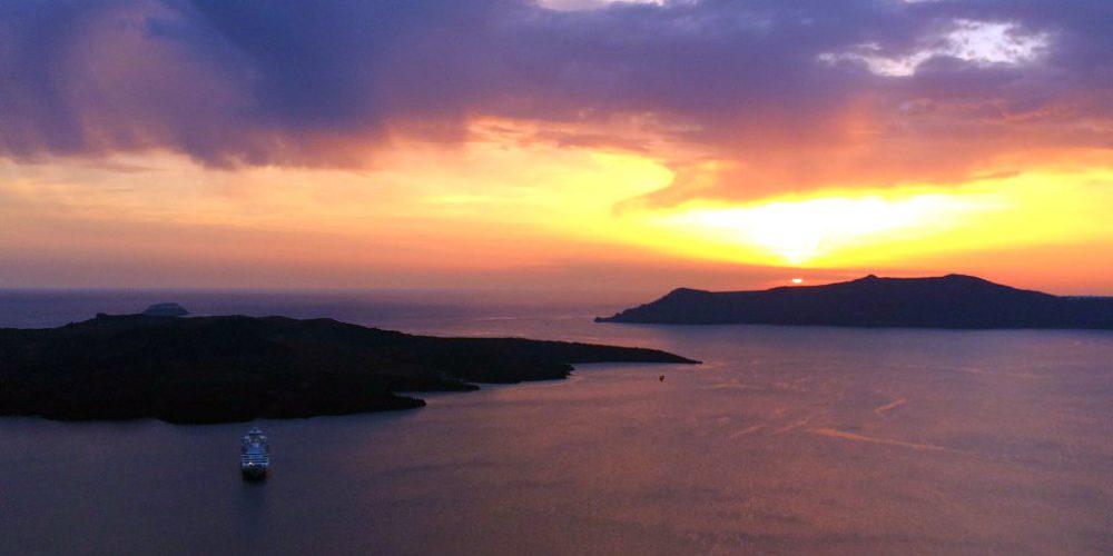 Santorini 's Sunset experience!
